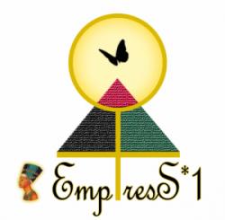 EmpresS1 Logo on White Gold Glow